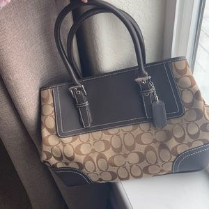 Coach Signature Caramel Shoulder Bag